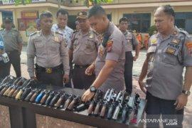 Senpi dinas Polres Tanjungbalai diperiksa