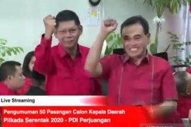Koalisi PKB-PDIP resmi usung Zairullah-Zulkifli