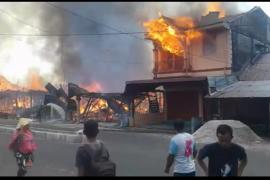 20 rumah terbakar di Aceh Singkil
