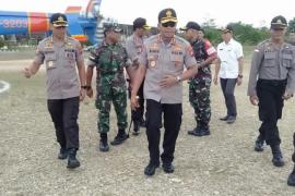 Kapolda Kalbar tinjau Pos lintas batas negara Indonesia - Malaysia