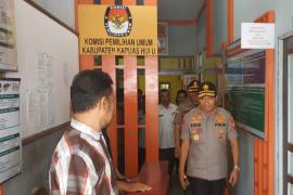 Kapolda Kalbar koordinasi tertutup dengan KPU Kapuas Hulu