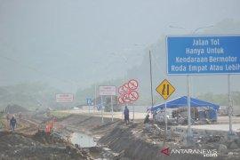 Jalan berliku Tol Padang Pariaman-Pekanbaru