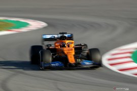 McLaren cegah virus corona saat tes di Barcelona