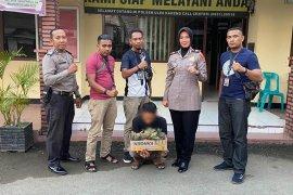 Polisi tangkap tersangka spesialis pencuri bunga di Banda Aceh
