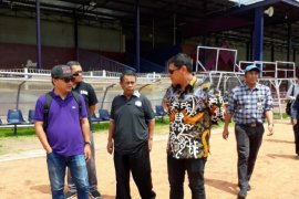 Wali Kota Kediri pastikan kesiapan Stadion Brawijaya jelang Liga 1 (Video)