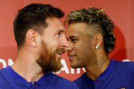 Messi masih berharap Neymar  kembali ke Barcelona