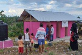 Penyintas gempa Maluku nikmati fasilitas MCK baru