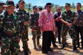 Danrem 012/TU tinjau lokasi TMMD di Aceh Jaya