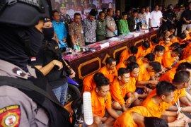 Polisi Tulungagung tangkap 41 pelaku penyalahgunaan narkoba