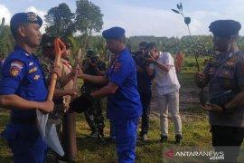 Ditpolairud Polda Babel tanam 11.000 manggrove