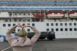 Dua warga Australia dari kapal pesiar Diamond Princess di Jepang positif corona