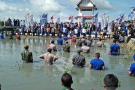 Panglima TNI tanam 20.000 bibit pohon bakau di pesisir Tangerang