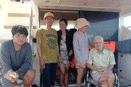 Kapal WNA terdampar di Pulau Bengkalis