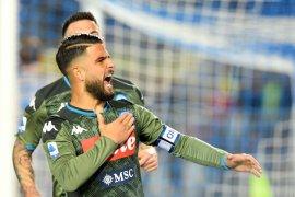 Sempat tertinggal, Napoli tundukkan Brescia 2-1