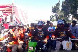 Seribuan penggemar motor trail ikuti jelajah alam Mukomuko