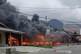 Ini kata polisi tentang pemicu kebakaran dua ruko di Bener Meriah