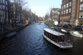 Berharap sungai Indonesia  sebersih kanal-kanal Amsterdam