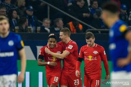 RB Leipzig pesta lima gol tanpa balas ke gawang Schalke