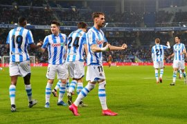 Liga Spanyol, Sociedad kalahkan Valencia untuk terobos empat besar