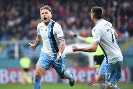 Lazio raih tiga poin dari kandang Genoa