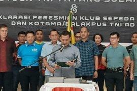 Deklarasi Army Cyling Club TNI AD dihadiri 15 jenderal