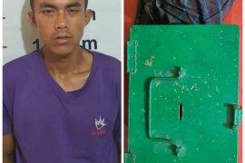 Polisi ringkus pencuri kotak infaq masjid di Hinai Kiri Secanggang Langkat