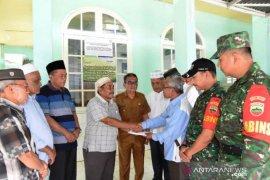 Darul Mursyid bantu Rp10 juta pembangunan Masjid Al Qosim Sipirok