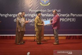 PT BBB terima sertifikat 'Proper' tingkat nasional