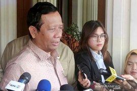 Mahfud MD: Presiden Jokowi tak pernah bicara terkait perombakan
