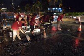 Jasa Marga telah perbaiki lubang di Tol JORR penyebab pecah ban kendaraan