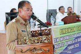 Bupati Bangka dorong BUMDes kembangkan usaha kemitraan