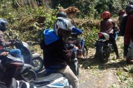 Flash - Longsor di Silaing, jalan Padang-Bukittinggi tidak dapat dilalui kendaraan