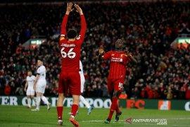 Liga Inggris, Liverpool hentikan perlawanan sengit West Ham di Anfield