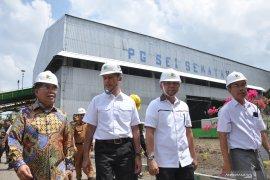 Lima tahun tidak aktif, pabrik gula Sei Semayang kembali dioperasikan