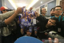 Puluhan pewarta boikot acara perilisan tim Persib musim 2020