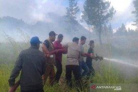 Enam hektare lahan di Bener Meriah terbakar