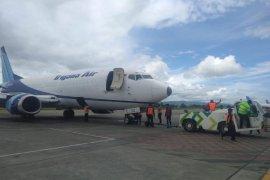 Saat hendak lepas landas, pesawat cargo Trigana tergelincir di Bandara Sentani