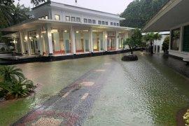 Kawasan istana kepresidenan ikut kebanjiran