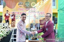 Ratusan siswa di Sumut  bersaing di Festival  Literasi
