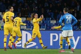 Barcelona main imbang 1-1 di kandang Napoli