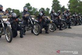 Dengan latihan pengamanan rutin, Polres Bengkayang siap amankan pilkada