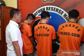 Polres Singkawang tangkap tiga pelaku tindak pidana narkotika