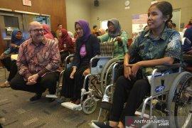 Konjen AS di Surabaya promosikan hak-hak penyandang disabilitas untuk bekerja