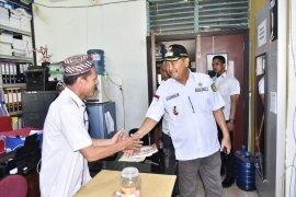 Wabup Syamsuddin Uti sidak ke Disdik Inhil