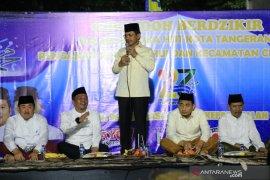 Jelang HUT Kota Tangerang, Warga gelar dzikir bersama