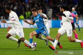 Gol semata wayang Lucas Tousart amankan kemenangan 1-0 Lyon atas Juventus