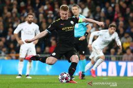 2-1, kemenangan penting Man City di markas Madrid