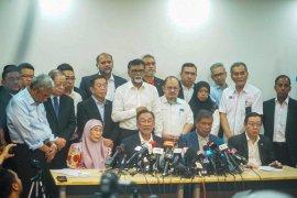 Majelis Presiden Pakatan Harapan protes pengumuman Mahathir