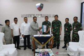 PTPN V bangun sinergi dengan Pangkalan Militer Roesmin Nurjadin
