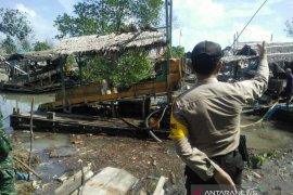 Polisi Bangka Barat imbau warga hentikan tambang liar Sungai Antam